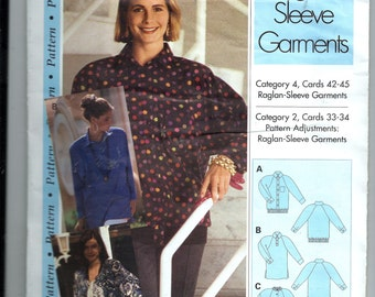 """Sewing Step By Step Pattern  """"Rag;an-Sleeve Garments"""""""