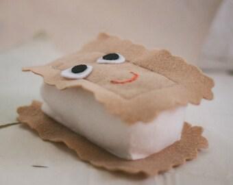 Felt Ice Cream Sandwich