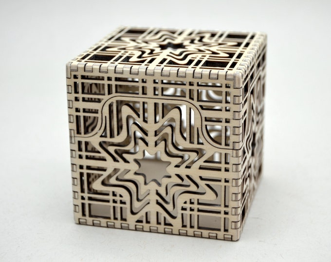 North Star Box - Laser Cut Plywood