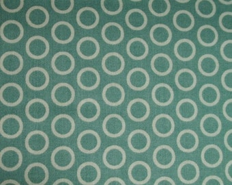 1 yard of Just Dreamy Blue Dot fabric by Riley Blake