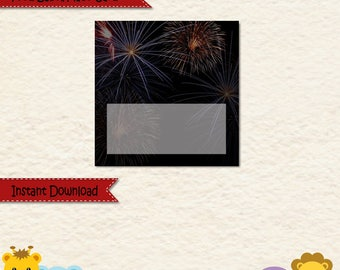 Instant Download Fourth of July Food Label • 4th of July • Independence Day • Sticker label • Allergy Card  • Place Card • Cookout • Holiday