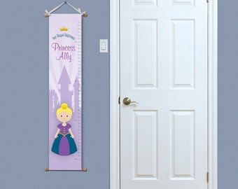 Princess Growth Chart - Growth Chart - Kids Growth Chart - Nursery Art - Girls Growth Chart - Personalized Growth Chart - Baby Gift Ideas
