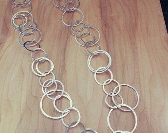 Handmade 30 inch Sterling Silver Chain