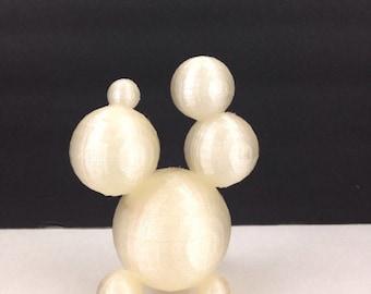 "3D Printed Folk Art Really Bad Art Sculpture Original ""Design"" Junk Up Your Desk Free Shipping"