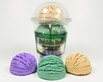 St. Patrick's Day Bubble Bath Scoops, Leprechaun, St Pattys Day for kids, St Patrick's Day for girls, Bubble bar, bubble truffle