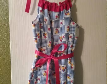 Girl's pillow case dress, Simple and cute by Mvious Da'Zigns