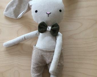 Large rabbit plush stuffed animal toy baby doll and child