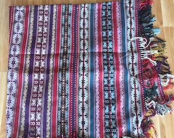 Organic Handmade Andean Alpaca Blanket