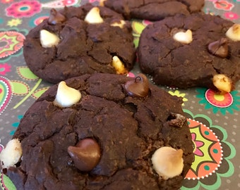 Gluten Free Black Bean Peanut Butter Chocolate Chip Cookies  1 pound