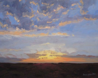 New Mexico Sunrise - Philmont - LIMITED EDITION PRINT