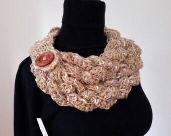 Crochet Cowl Scarf, Women Cowl, Neckwarmer, Crochet Neckwarmer, Women Scarf, Crochet Women Scarf, Women Gift Ideas, Crochet Cowl, Neckwarmer