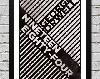 George Orwell Nineteen Eighty-Four Art Print