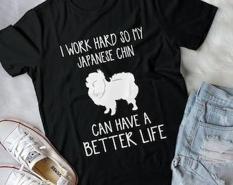 Japanese Chin Art, Japanese Chin Dog, Japanese Chin Gift, Dog Lover Gift, Japanese Chin Gifts, Dog Lover, Japanese Chin Shirt