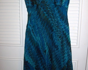 Dress 6, Vintage Evening Laundry by Shelli Segal Silk Tea Length Sought-After Find Size 6 see details