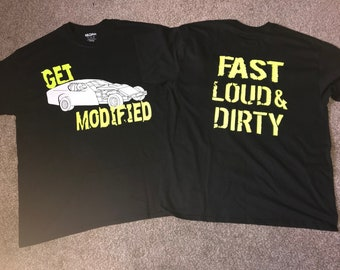 Get Modified Car T Shirt
