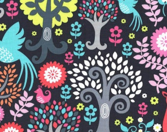 Fantasy Woods Sorbet from Michael Miller Fabric's Fantasy Woods Collection