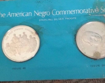 The American Negro Commemorative society sterling proofs