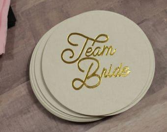 Team Bride Coasters