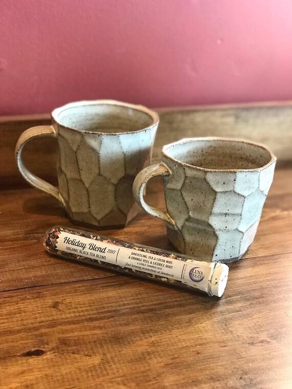 Tea Mug - Hand Thrown Pottery - Ceramic Mug
