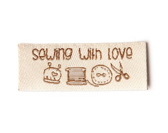 SEWINGWITHLOVE  IRONON PATCH