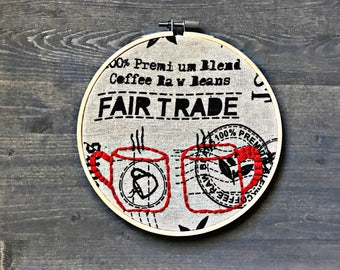 Human Rights, Activist, Equality, Modern Hoop Art, Resistance, Hipster Patches, Embroidery Hoop Art, Patches for Jackets, Housewarming Gifts
