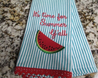 Watermelon Hand Towel