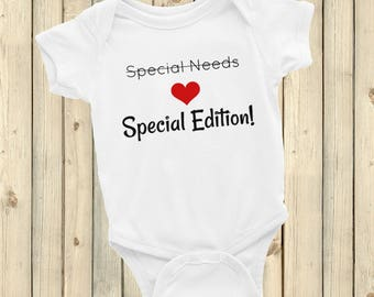 Special Edition, Not Special Needs Bodysuit - Choose Color