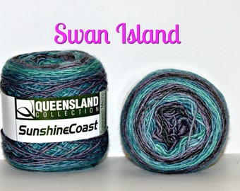 Sunshine Coast by Queensland Colletion, Gorgeous Self Striping Colorways, Perfect for making high end luxury fashion accessories, clothing