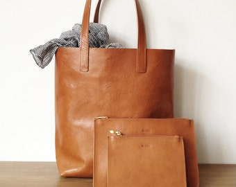 Molly Shopper Light Brown - with lining and magnetic closure