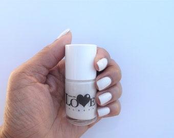 White nail polish- Clean Slate