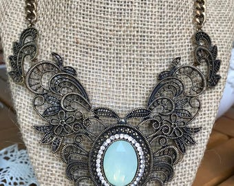 Elaborate Filigree Necklace