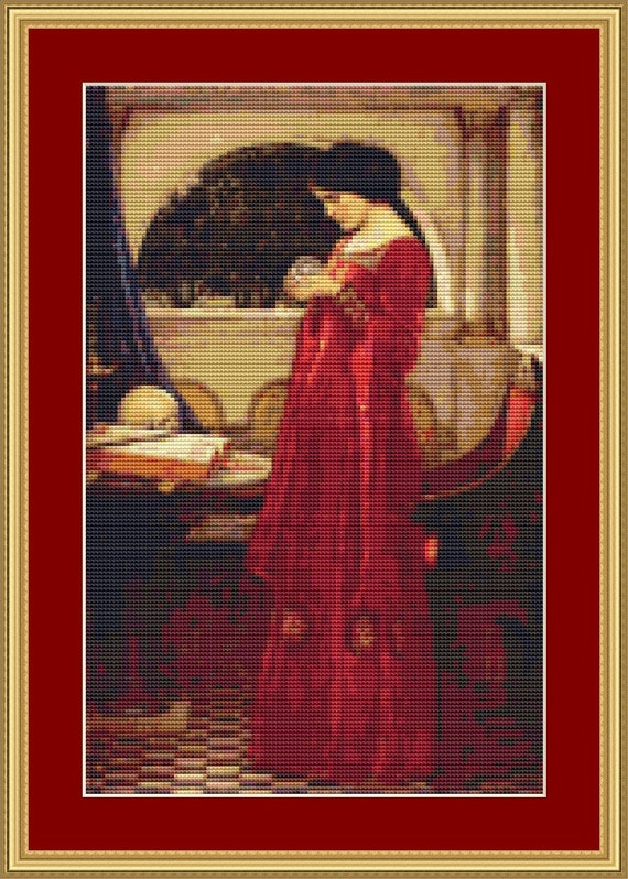 The Crystal Ball Cross Stitch Pattern /Digital PDF Files /Instant downloadable