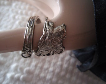 Cool St Louis Spoon Ring Sterling Silver St Louis Represents King Louis IX of France Symbol of St Louis Mo Jewelry a1939