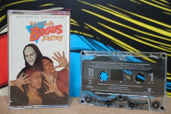 Bill & Ted's Bogus Journey (Original Motion Picture Soundtrack) by Various Artists Vintage Cassette Tape