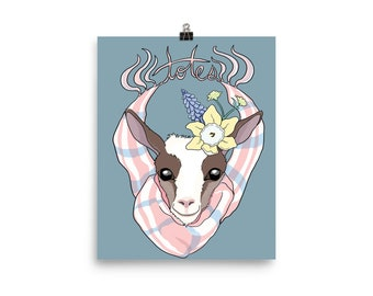 Totes Ma Goats Poster