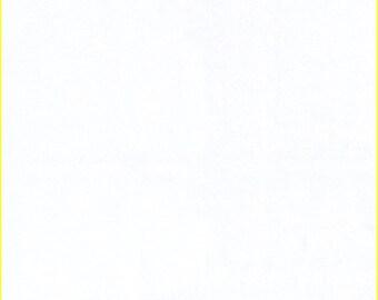 "60"" White Interlock Knit Fabric-15 Yards By The Bolt (TS0101)"