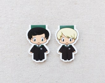 Magnetic Bookmarks - Wizard Duo