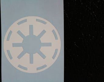 Star Wars Galactic Republic Decal Any Size Any Colors