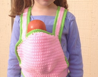 Crochet Baby Doll Carrier For Kids
