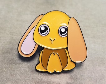 Kenken the House Bunny Enamel Pin -- Free shipping to USA