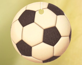 Soccer Ball Car Air Freshener