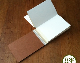 Blank Journal Sketchbook with Accordion Pages