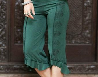 Atlantis Pants- 3/4 pants/pixie pants/doof pants/pixie clothing/yoga pants/doof clothing/festival clothing/dance wear/yoga wear/hippie/boho