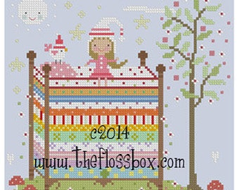 The Princess and the Pea Cross Stitch