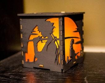 Samurai Champloo Lantern with tealight