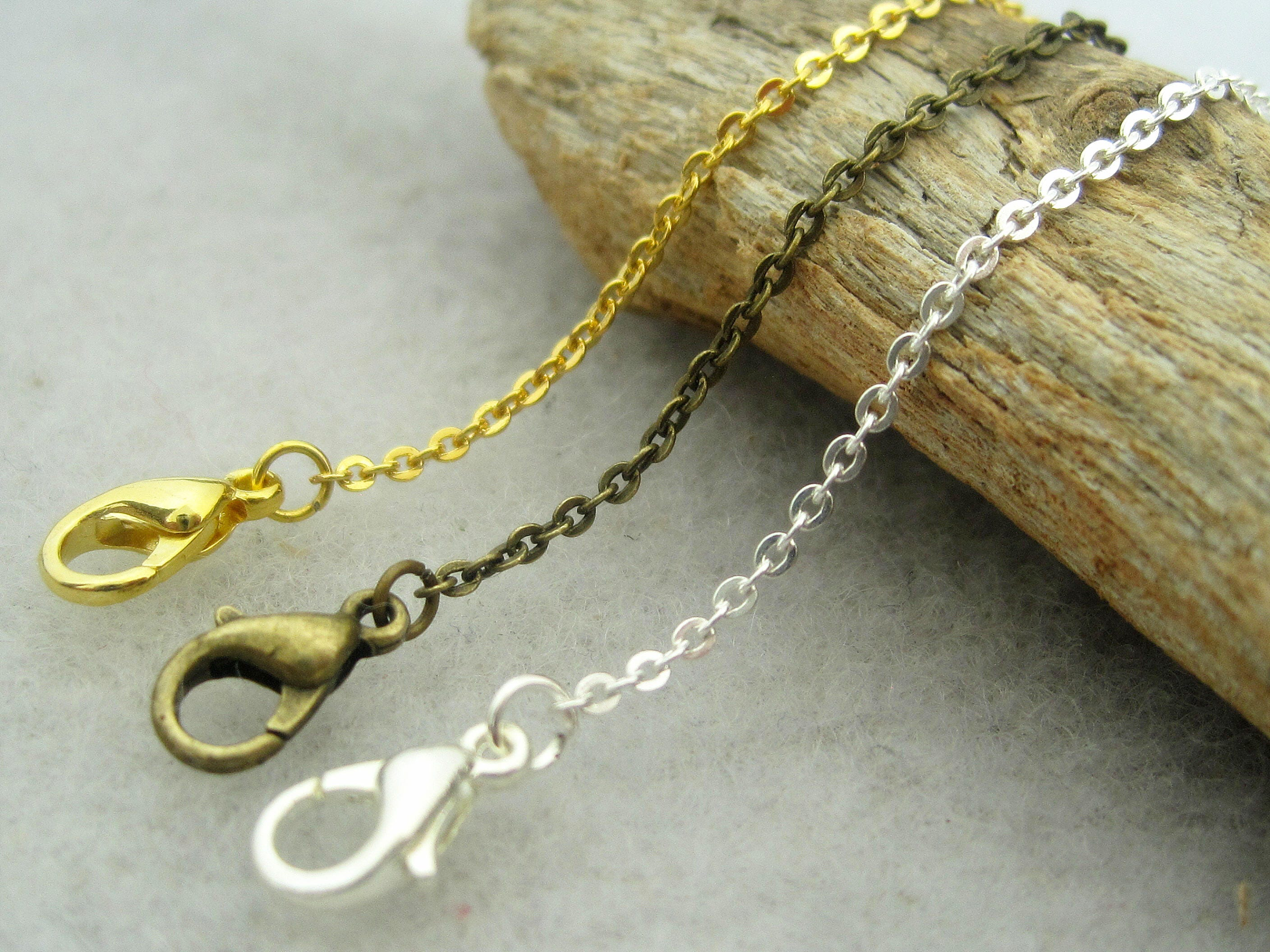 with fullxfull chain chains listing brass il real bronze fine silver clasps