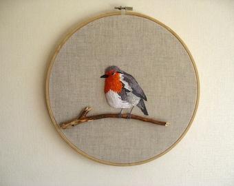 robin stumpwork