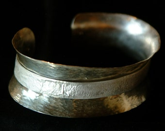 Anticlastic Sterling cuff