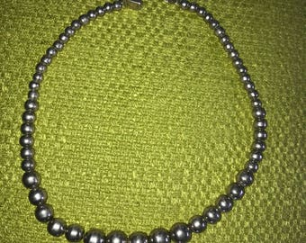 Navajo Pearl Bead Necklace