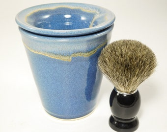 Brush Shave Scuttle - Shaving Scuttle - Clay Shaving Warmer - Scuttle Shave - Shave Scuttle - Wetshave Scuttle - In Stock